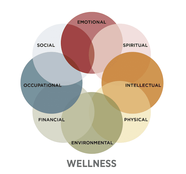 corporate wellness diagram